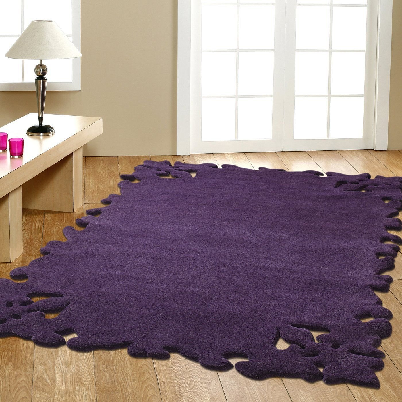 Best Modella Purple Area Rug For My Bedroom C Purple With Pictures
