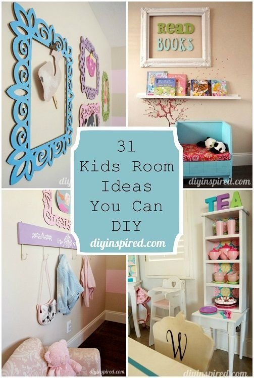 Best 31 Kids Room Ideas You Can Diy Bloggers Best Diy Ideas With Pictures