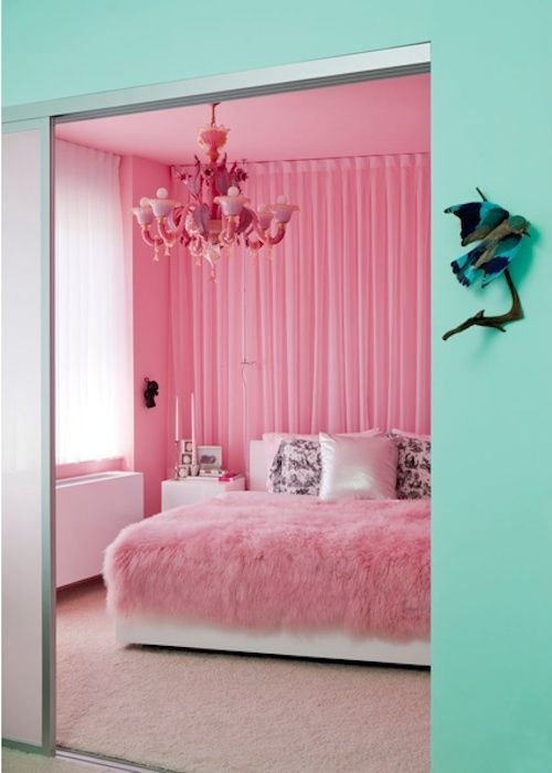 Best Pink And Turquoise Rooms Design Inspiration In Aqua With Pictures