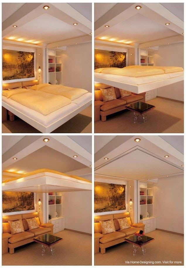 Best Using Space Saving Bedroom Furniture To Make A Small But With Pictures