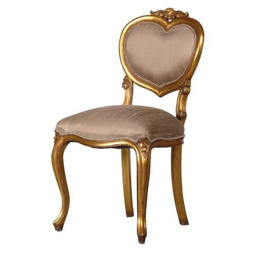 Best Gold Heart Chair Bedroom Chair Http Www Beau Decor Co With Pictures