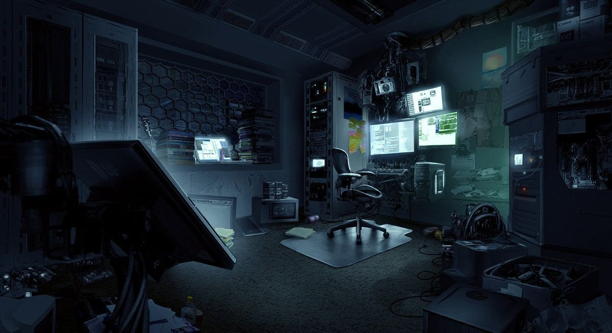 Best Hacker Room Tim Ridley On Artstation At Https Www With Pictures