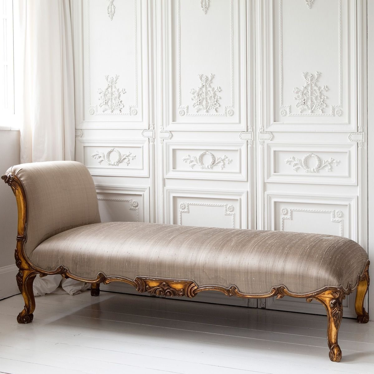 Best Versailles Gold Chaise Longue French Bedrooms Chaise With Pictures