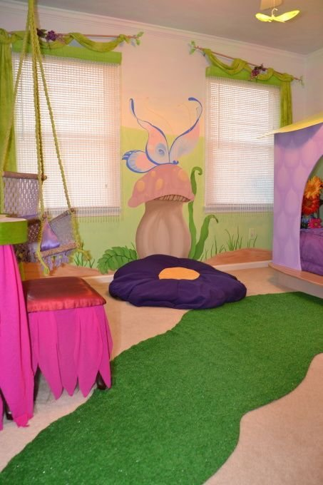 Best Fairy Garden Themed Room Home Decor Enchanted Woodland With Pictures