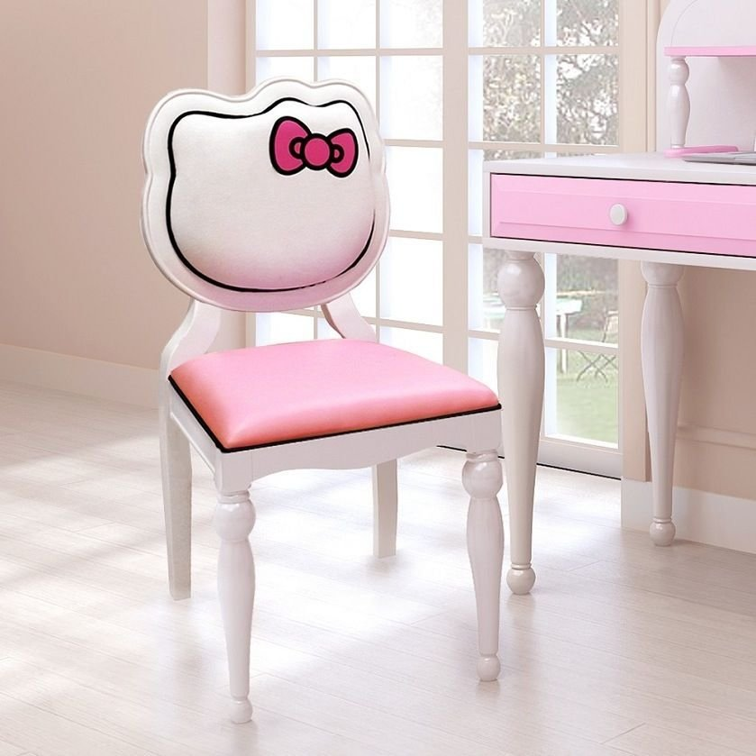 Best Hello Kitty Desk Chair Girls Pink Furniture Character With Pictures