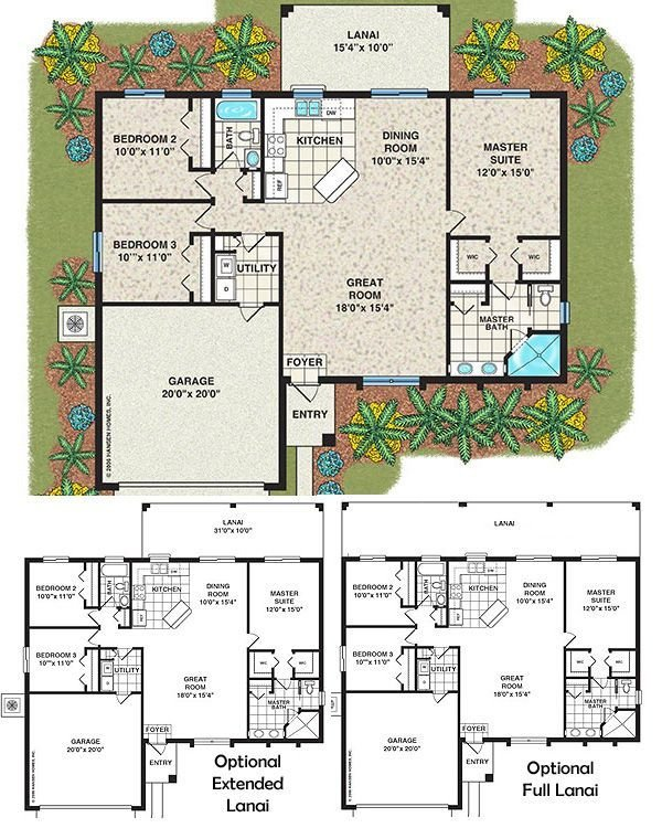 Best Affordable House Plans 3 Bedroom Islip Home Plan 3 With Pictures