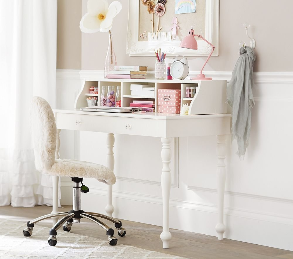 Best Interesting Ideas For Comfortable Desks With White Wooden With Pictures