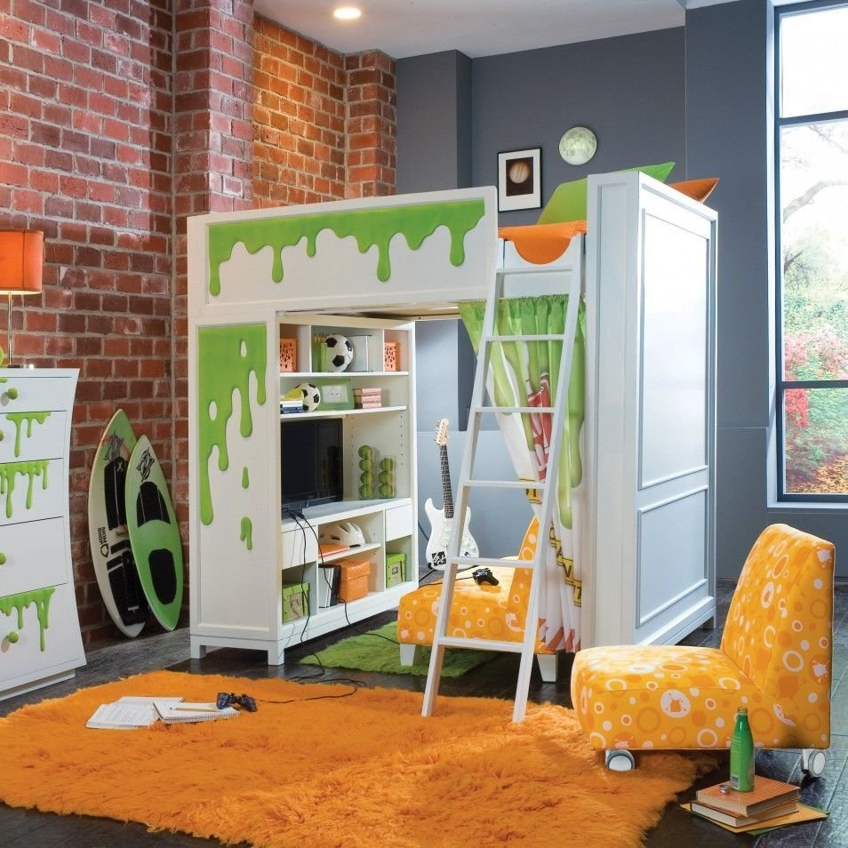 Best Educational Play Rooms In Modern Fun Kids Rooms Design With Pictures