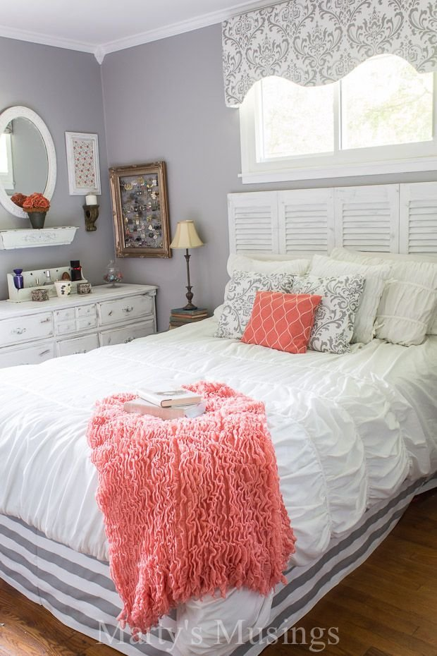 Best Coral Bedroom On Pinterest Coral Navy Bedrooms Navy With Pictures