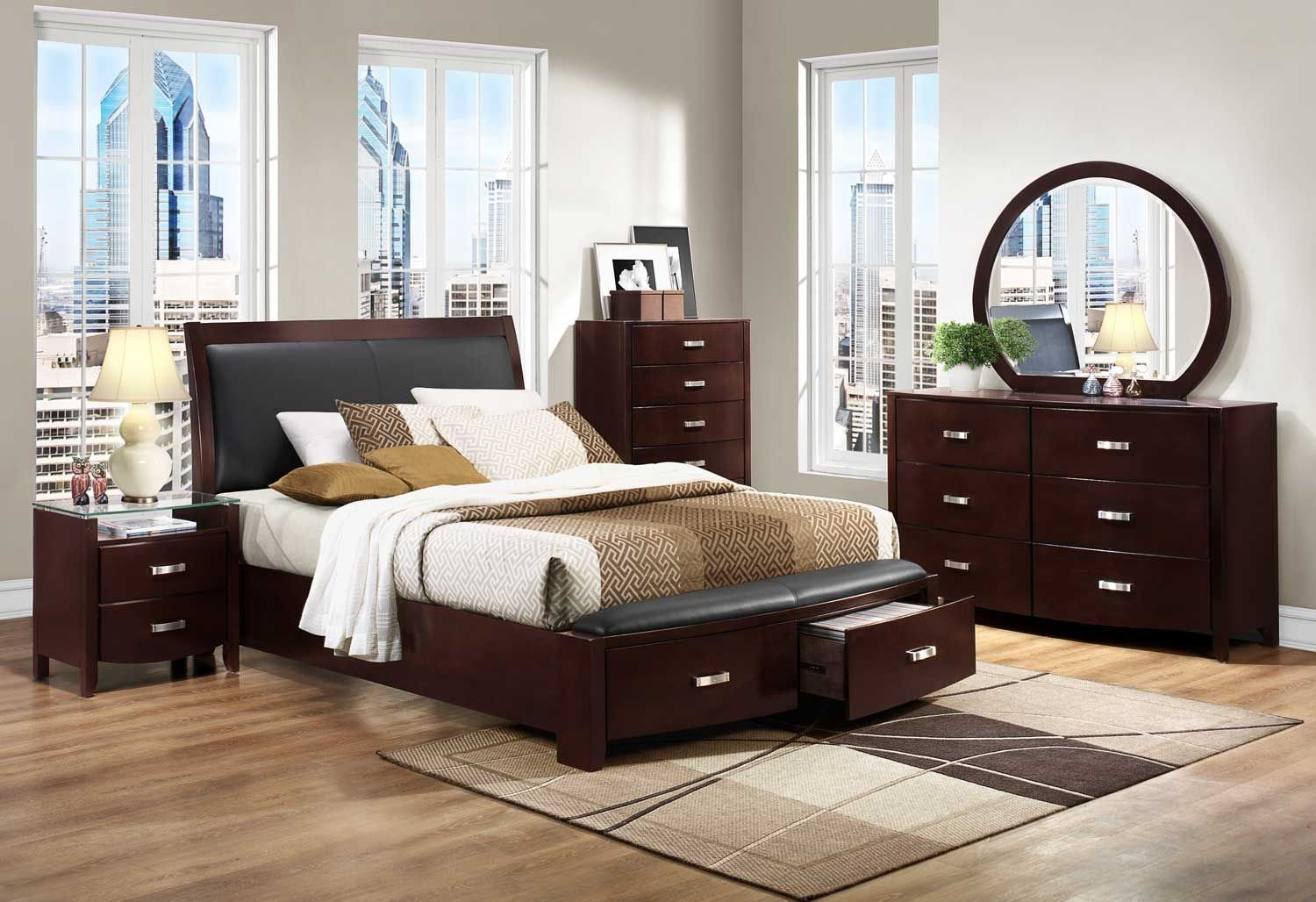 Best Homelegance Lyric Platform Bedroom Set Dark Espresso With Pictures