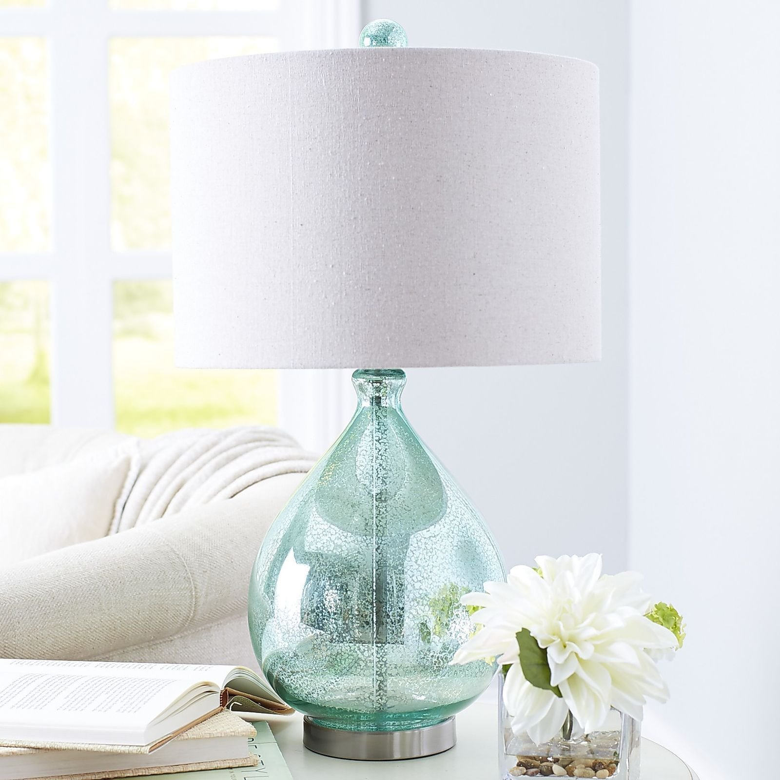 Best 25 Blue Glass Lamp Ideas On Pinterest Bedside Lamps Chandelier Buy Lamps And Beach With Pictures