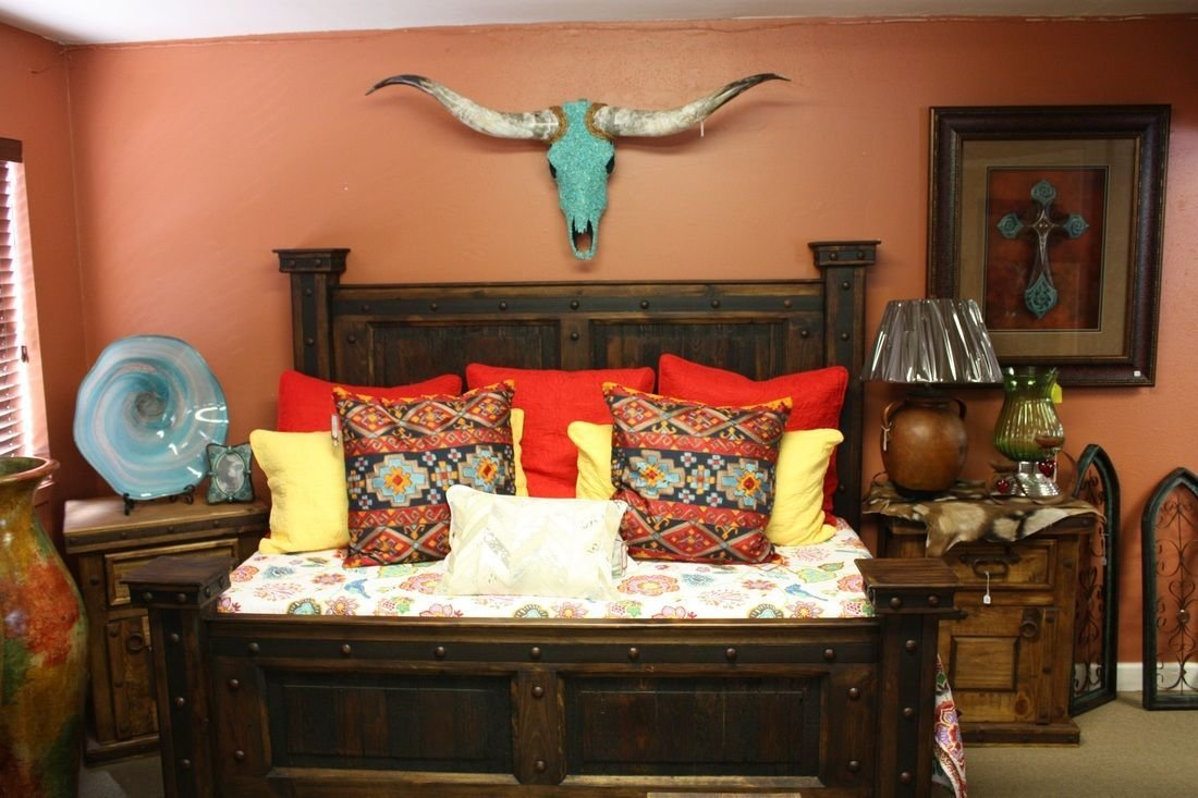 Best Western Decor Rustic Tables Southwestern Furniture With Pictures
