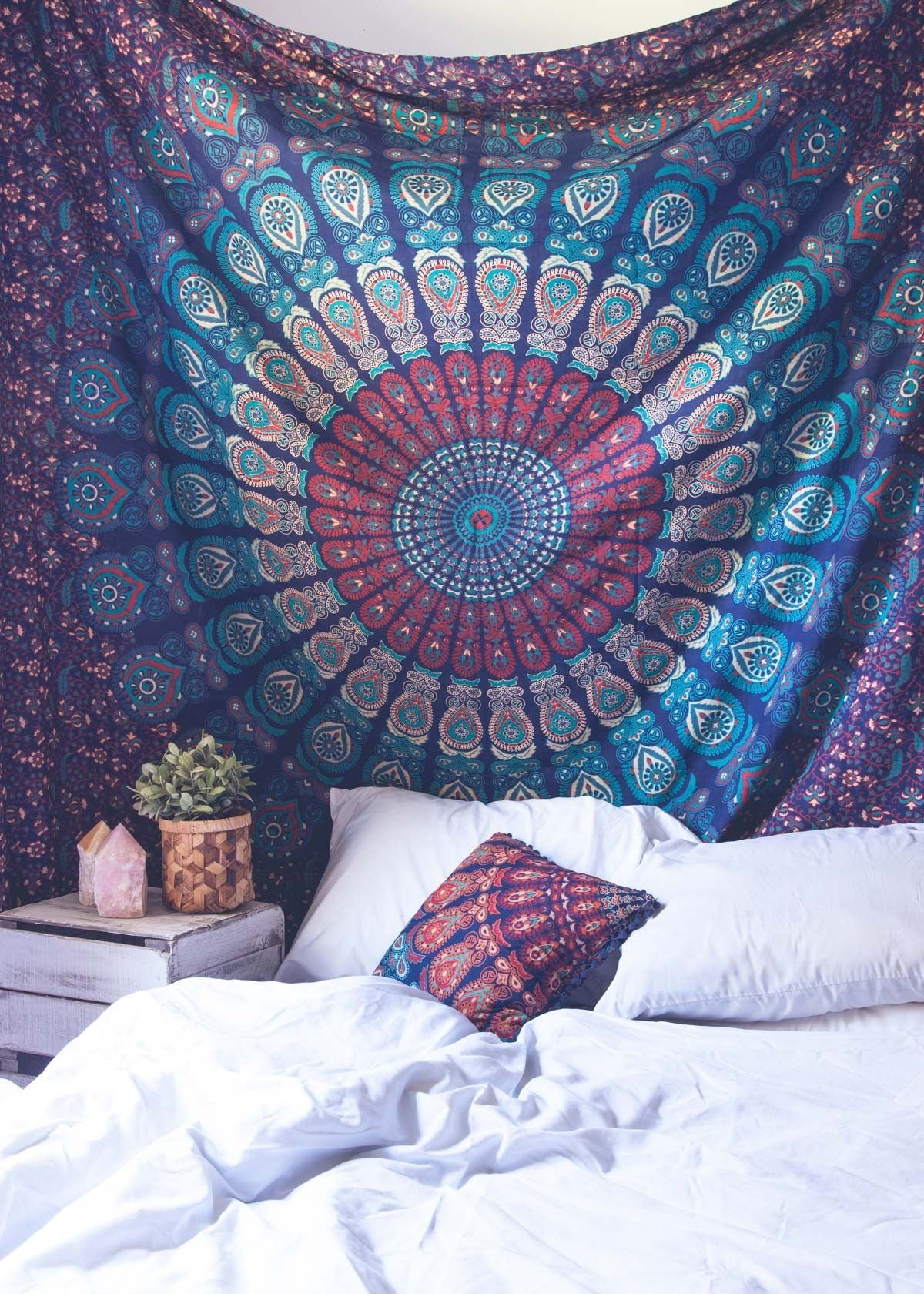 Best Mahali Medallion Tapestry Boho Tapestry Tapestry And With Pictures