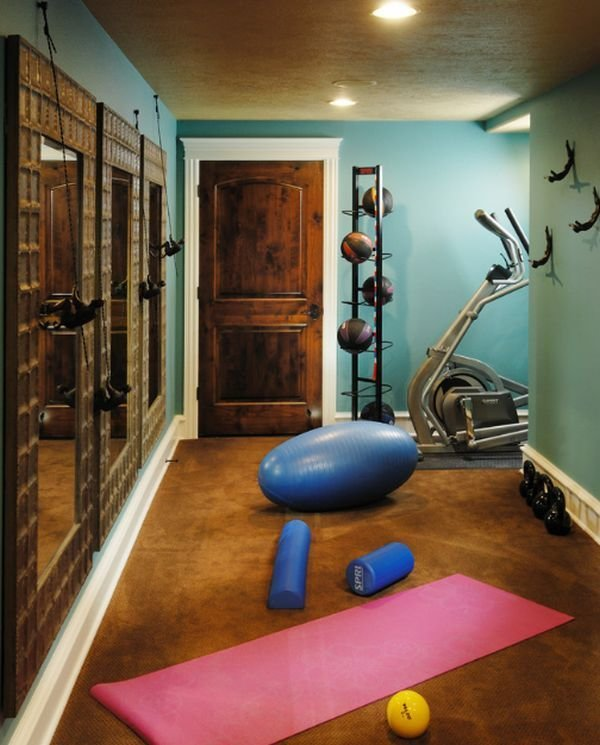 Best Small Home Gyms On Pinterest Home Gym Design Gym Design With Pictures