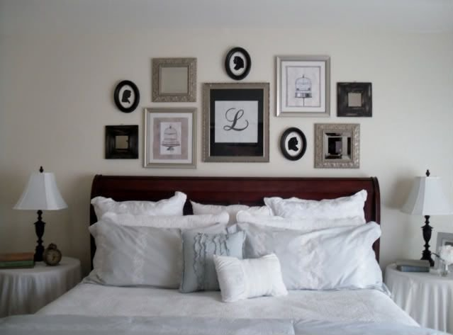 Best Wall Above Headboard Love For The Home Pinterest With Pictures