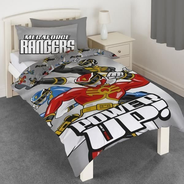 Best Megaforce Power Rangers Single Duvet Cover Quilt Cover With Pictures