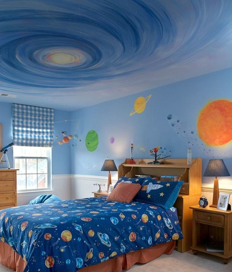 Best Space Theme Bedroom On Pinterest Outer Space Bedroom With Pictures