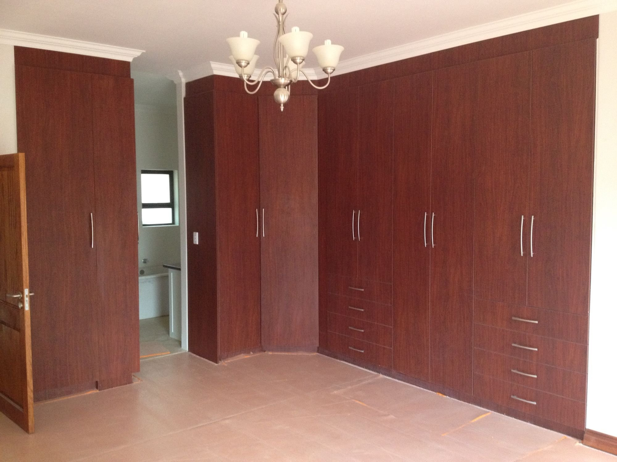 Best Royal Mahogany Melamine Bedroom Cupboards Quality With Pictures