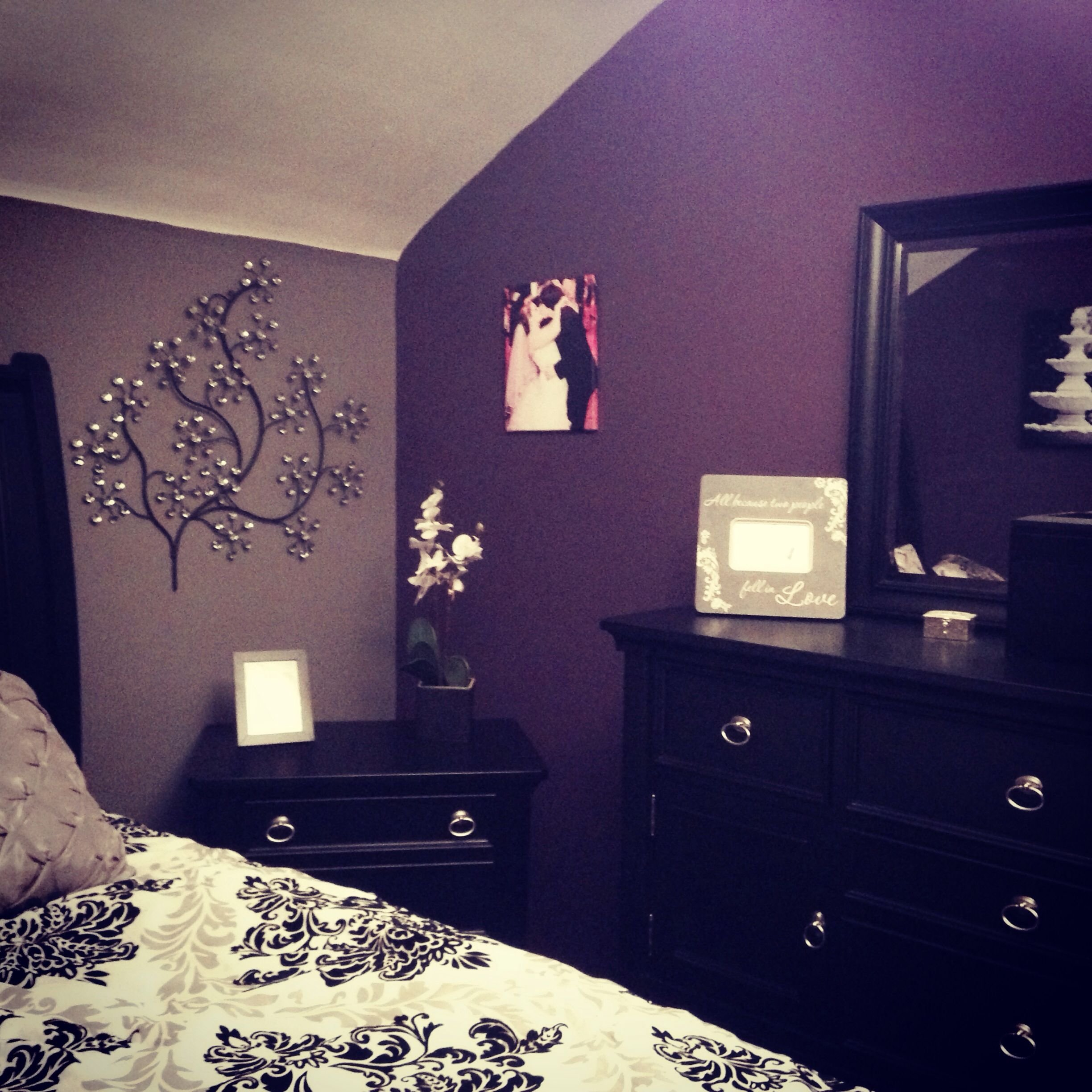 Best My Purple And Grey Bedroom My Diy Pinterest Gray With Pictures