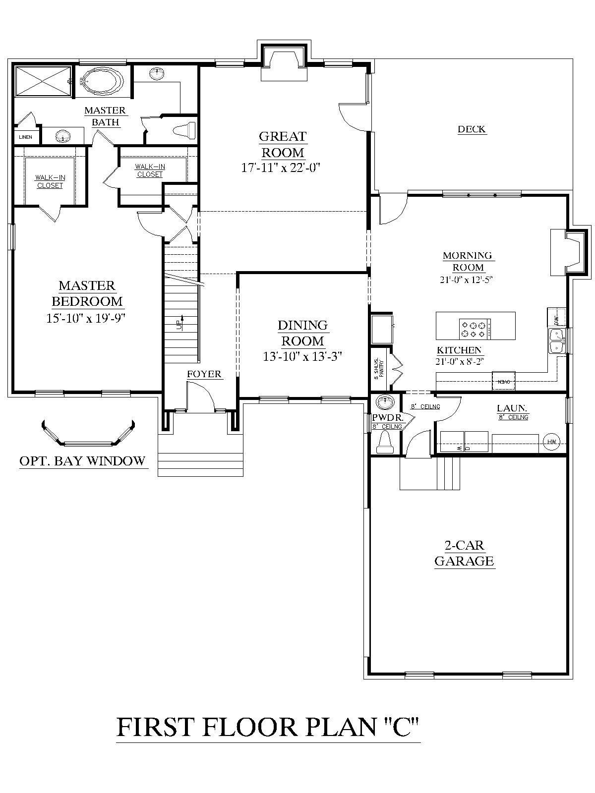 Best House Plan 2995 C Springdale C First Floor Traditional With Pictures