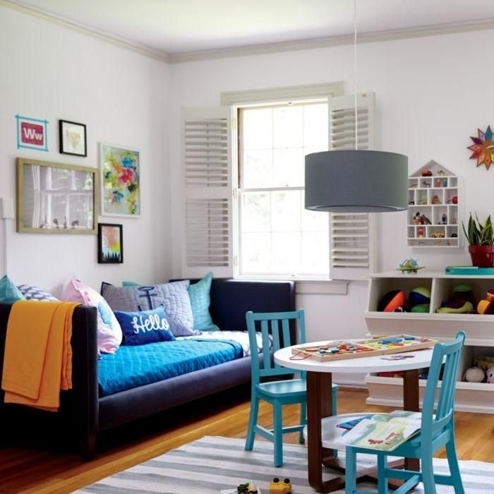 Best Multipurpose Playroom And Guest Bedroom Nod Kids Shared Spaces Pinterest Playrooms With Pictures
