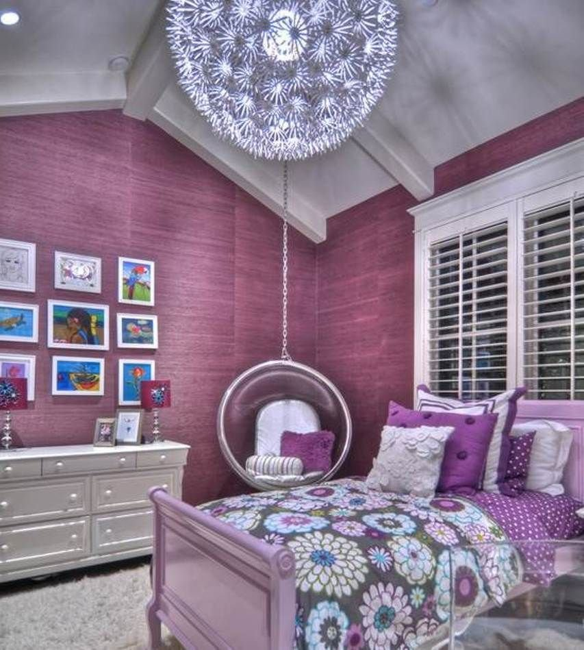 Best Decorating Purple Bedroom Ideas For Girls Better Home With Pictures