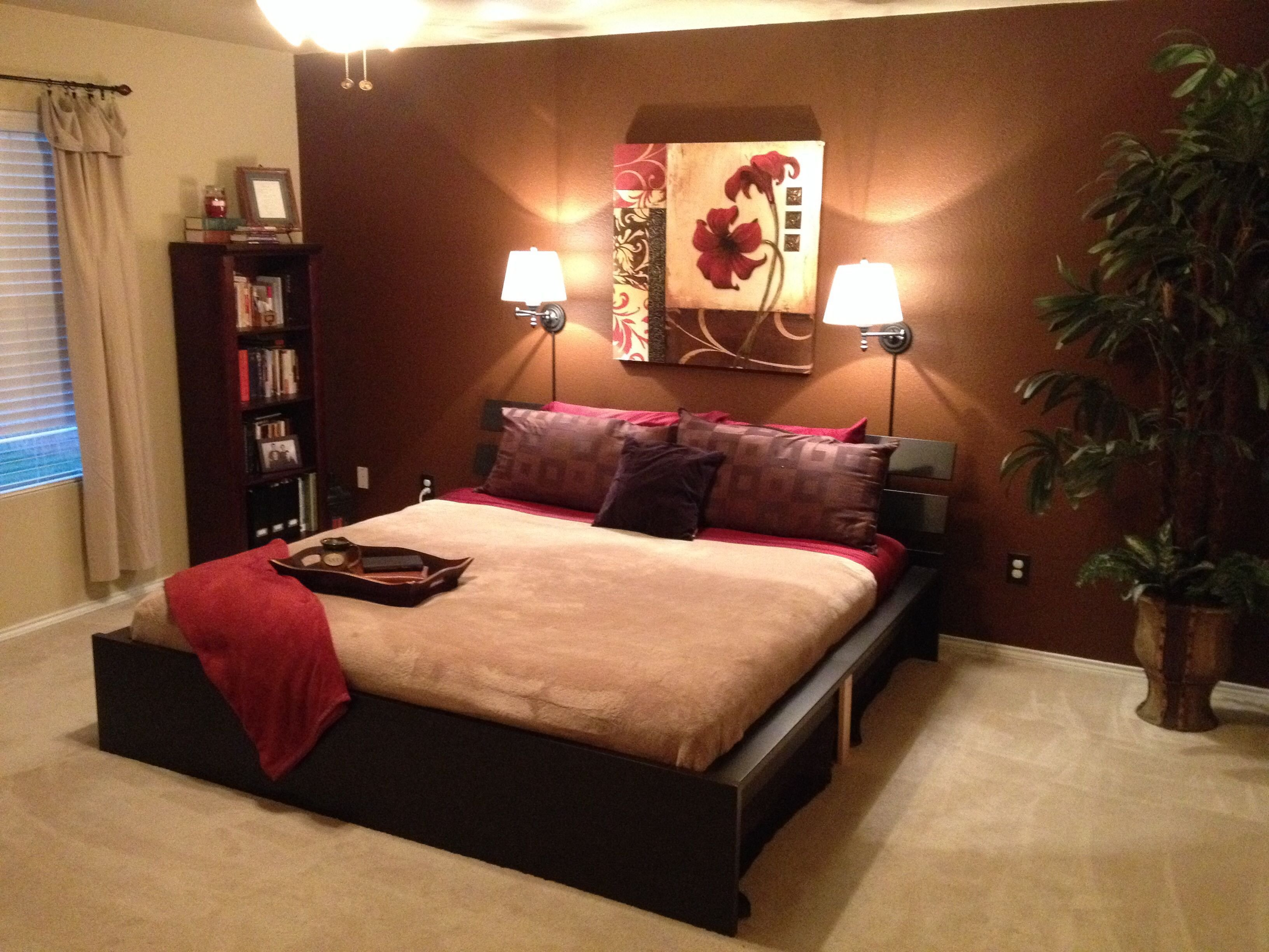 Best Brown Accent Wall Master Bedroom Dream Home Pinterest With Pictures