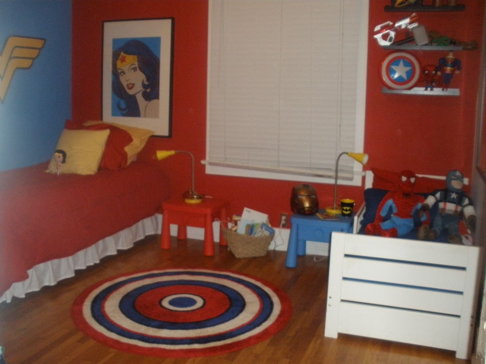Best Super Hero Shared Room Making It Work For Boy And Girl With Pictures
