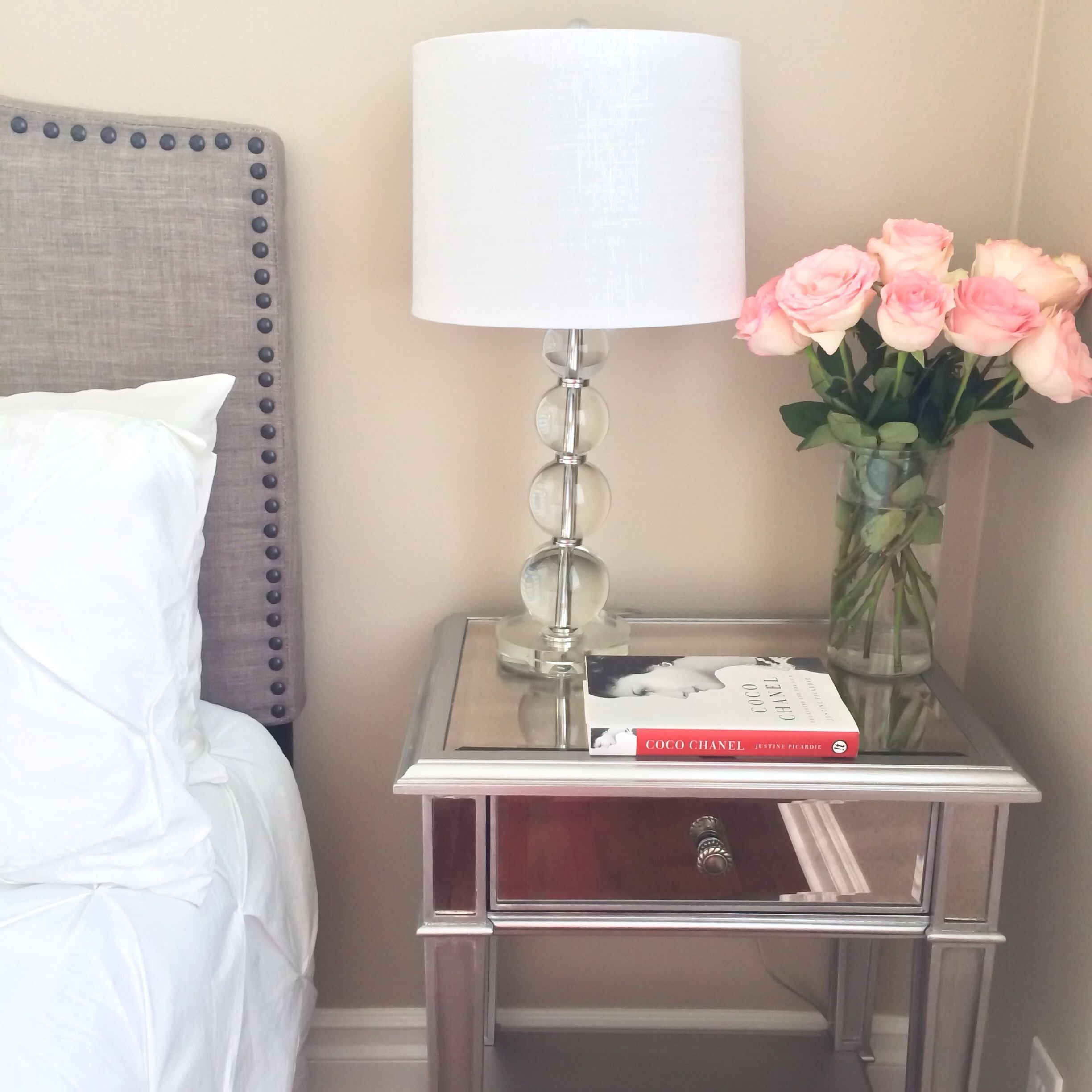 Best Mirrored Nightstand For Your Bedroom Design Ideas With Pictures