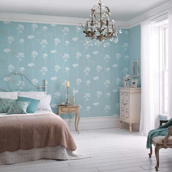 Best Dulux S Meadowsweet Teal Wallpaper Is The Highlight In With Pictures