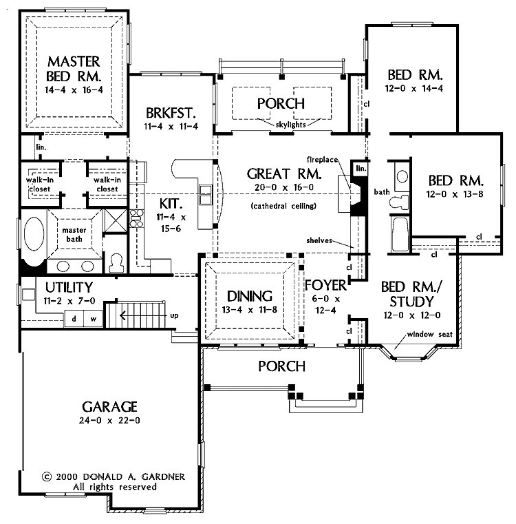 Best One Story Open Floor Plans With 4 Bedrooms Generous One With Pictures