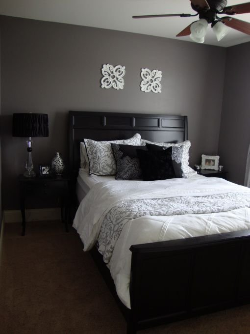 Best Purple Grey Guest Bedroom Bedroom Designs Decorating Ideas Rate My Space New Bedroom Ideas With Pictures