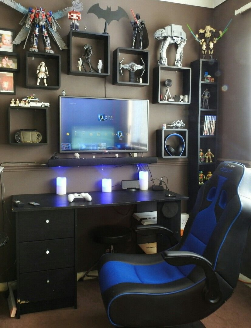 Best 15 Game Room Ideas You Did Not Know About Gaming Setup Game Rooms And Room With Pictures