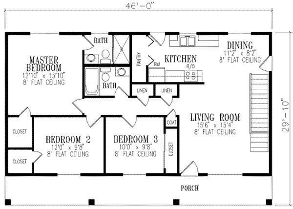 Best 1148 Square Feet 3 Bedrooms 2 Batrooms On 1 Levels With Pictures
