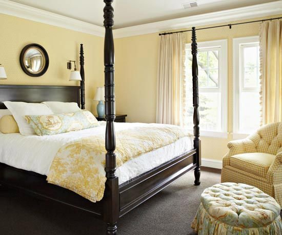 Best Yellow Bedroom Paint On Pinterest Cherry Wood Bedroom With Pictures
