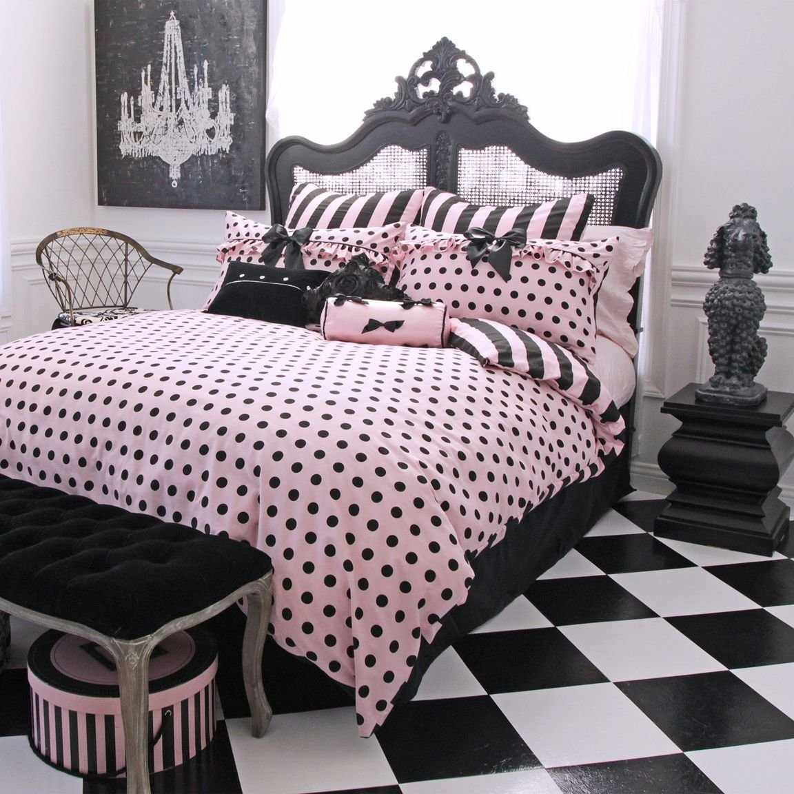Best Frenchie Polka Dot Comforter Set Http Www With Pictures