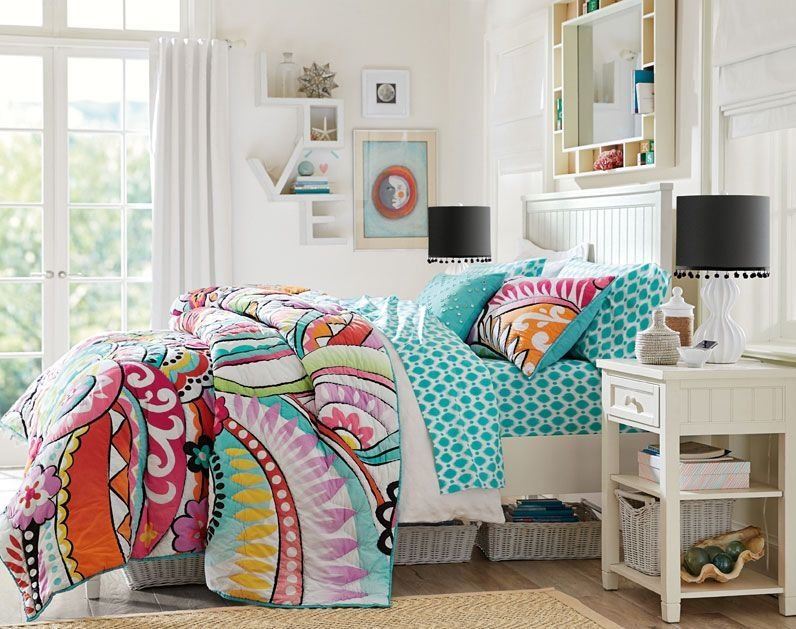 Best Teenage Girl Bedroom Ideas Surfer Girl Style Pbteen With Pictures