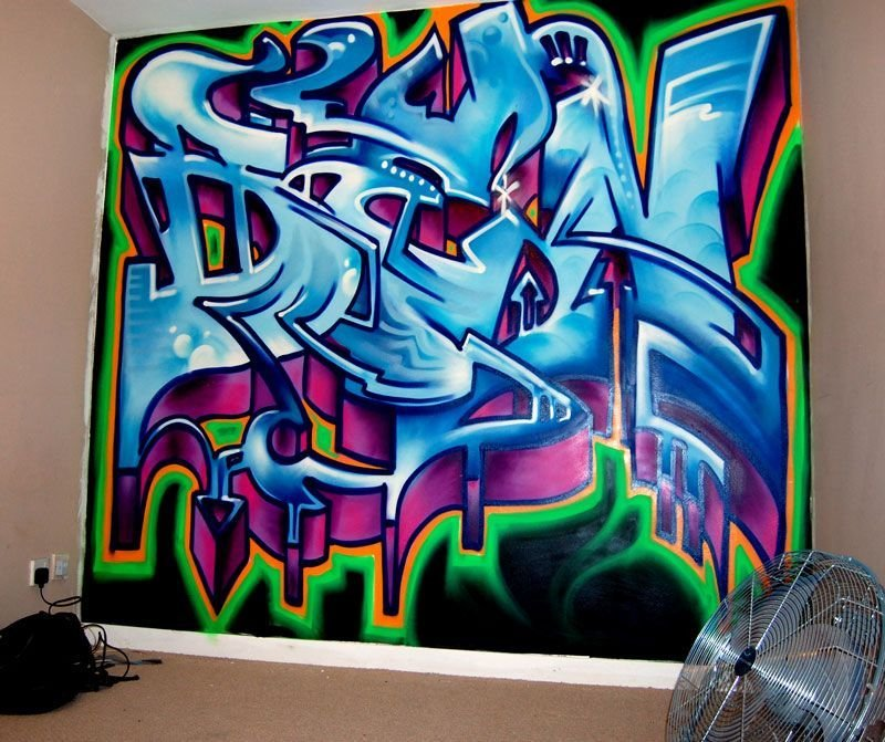 Best Teenage Boys Bedroom Black Graffiti Google Search With Pictures