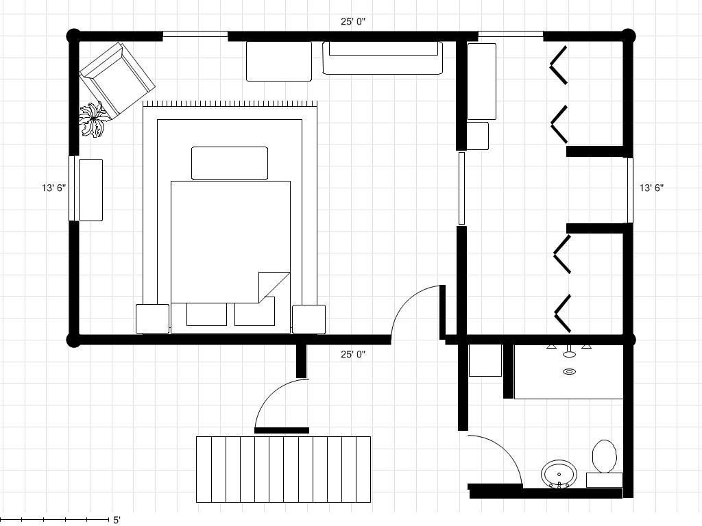 Best 30 X 18 Master Bedroom Plans Bathroom To A Master With Pictures
