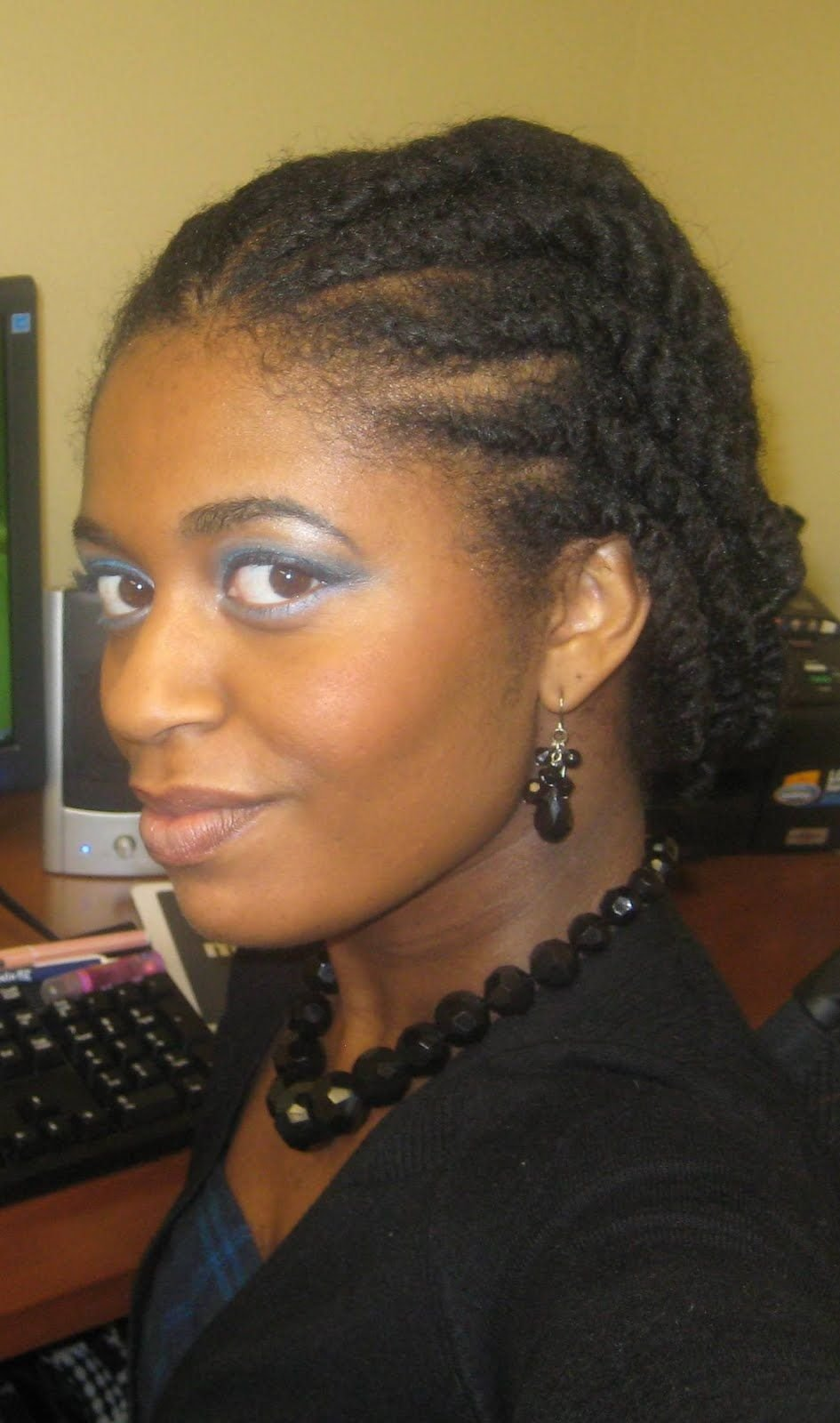 Free Flat Twist Hairstyles 2013 African American Natural Hair Wallpaper