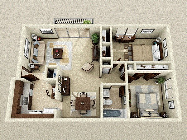 Best 2 Bedroom Apartments Bedroom Apartment Decorating Ideas With Pictures
