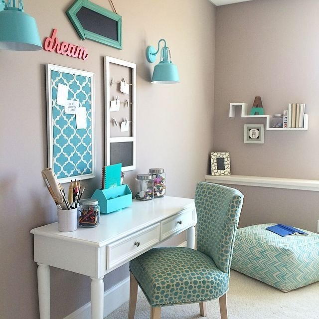 Best Turquoise T**N Room White Desks Meme And Desks With Pictures