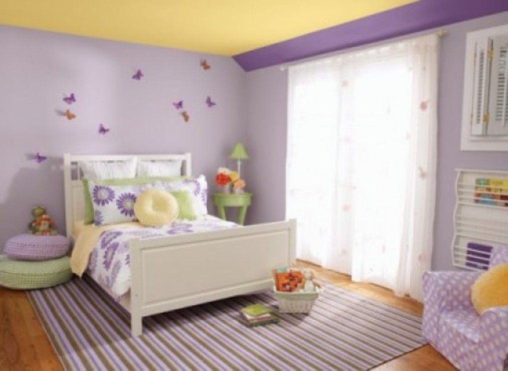 Best Paint Ideas For Girls Bedroom 2014 Purple And Yellow Are With Pictures