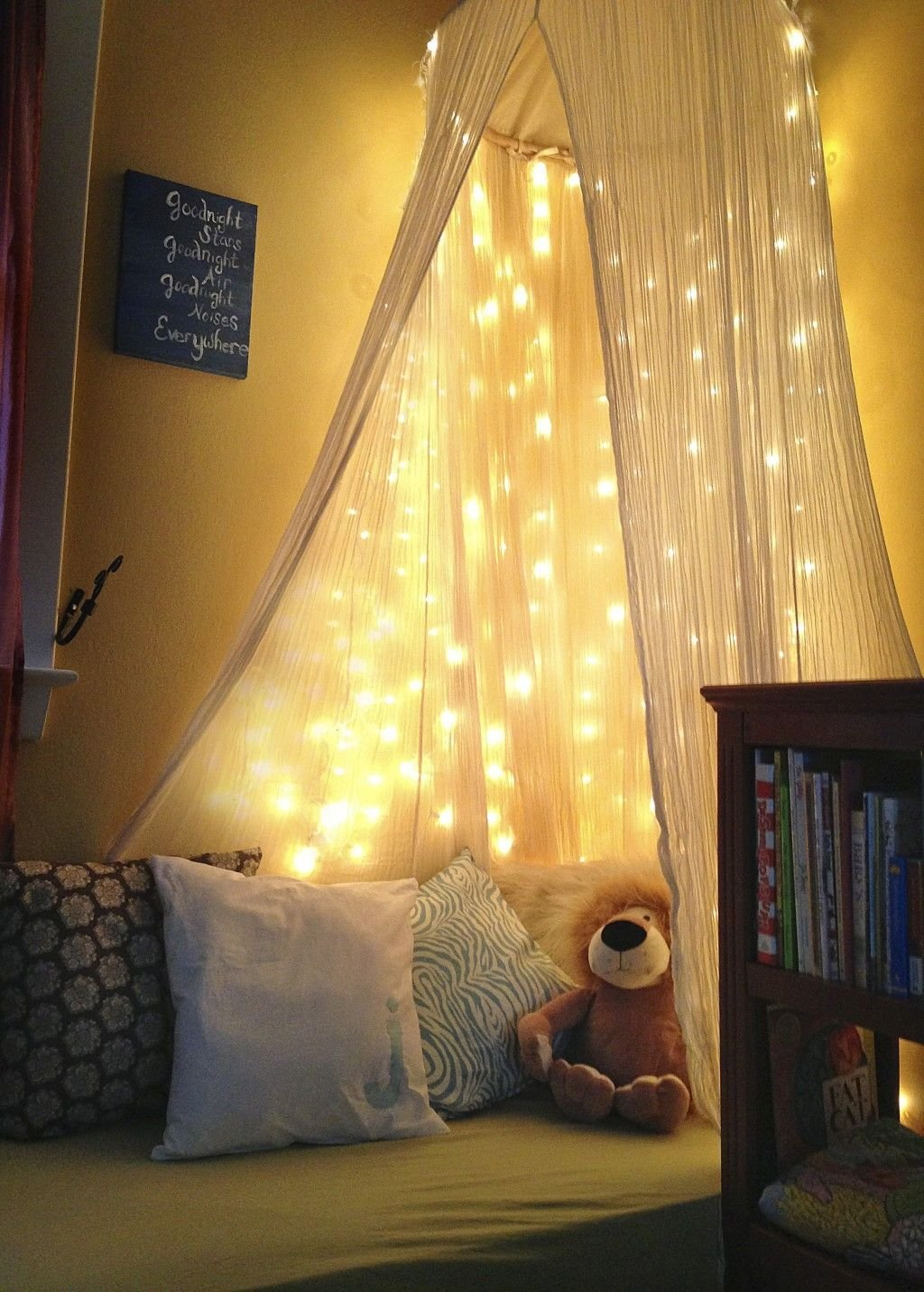 Best Glamour Ikea Net Fairy Lights For Romantic Bedroom Sweet With Pictures