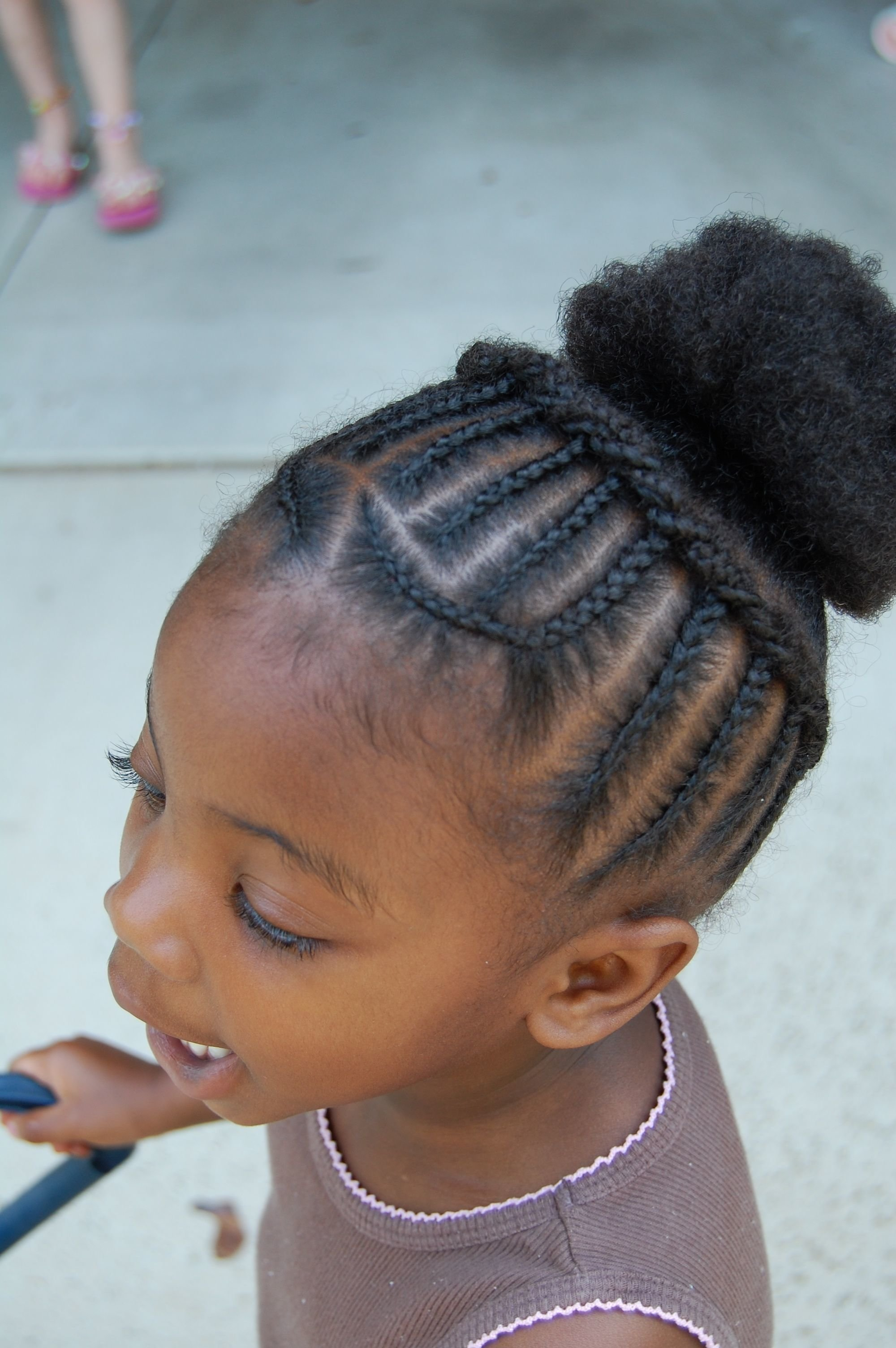 Free African Princess Little Black Girl Natural Hair Styles Wallpaper