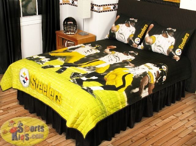 Best Sports Coverage Nfl Pittsburgh Steelers Play Action Quilt With Pictures
