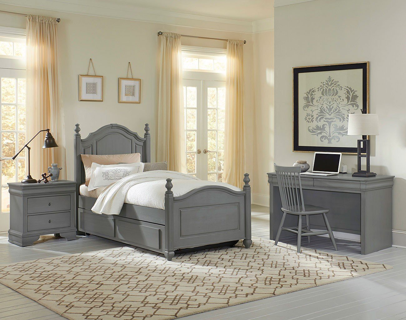 Best French Market Youth Poster Bedroom Set Zinc Vaughan With Pictures