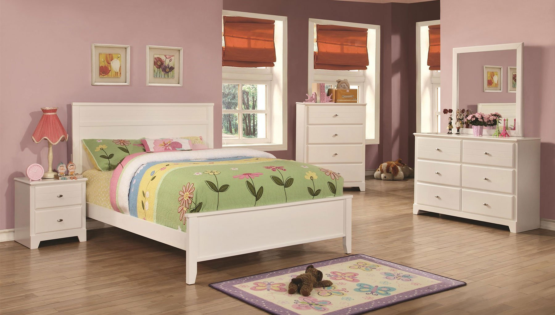Best Ashton Youth Bedroom Set White Coaster Furniture Furniture Cart With Pictures