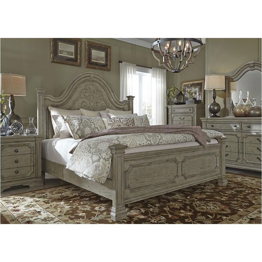 Best Grand Estates Poster Bedroom Set Liberty Furniture With Pictures