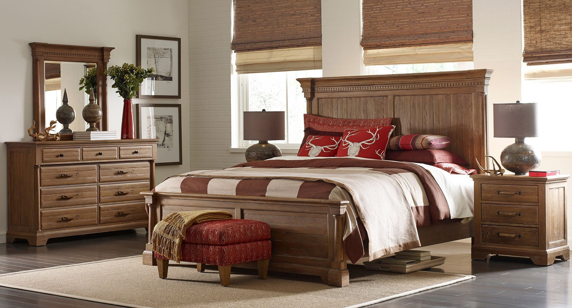 Best Stone Ridge Ardennes Panel Bedroom Set Kincaid Furniture With Pictures